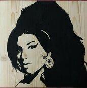 ritratto su legno