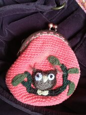 Purse or object holder § Portamonete o portaoggetti § Hand Knitted Toys