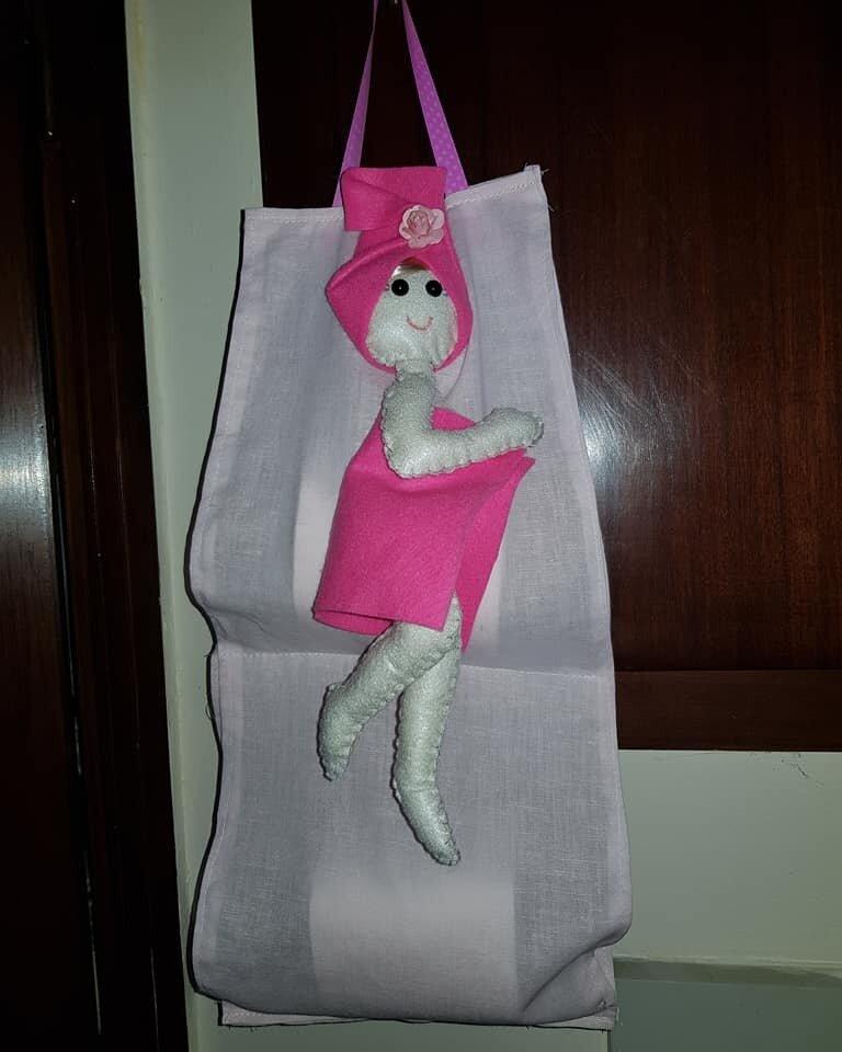 porta rotolo bambolina