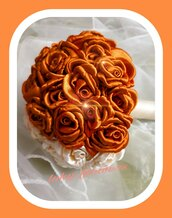 Bouquet sposa  orange