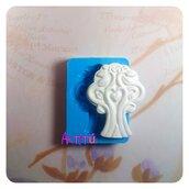 Stampo in silicone Albero della vita 4,6x3,7cm bomboniere battesimo matrimonio originale handmade