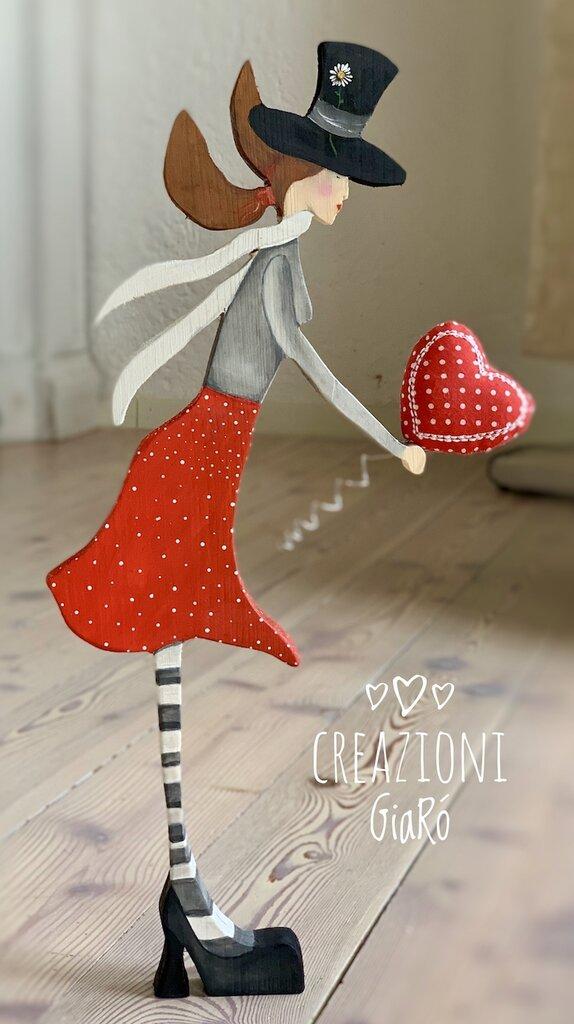 Mary Poppins  in legno massello