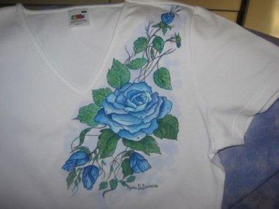 maglietta con stampa