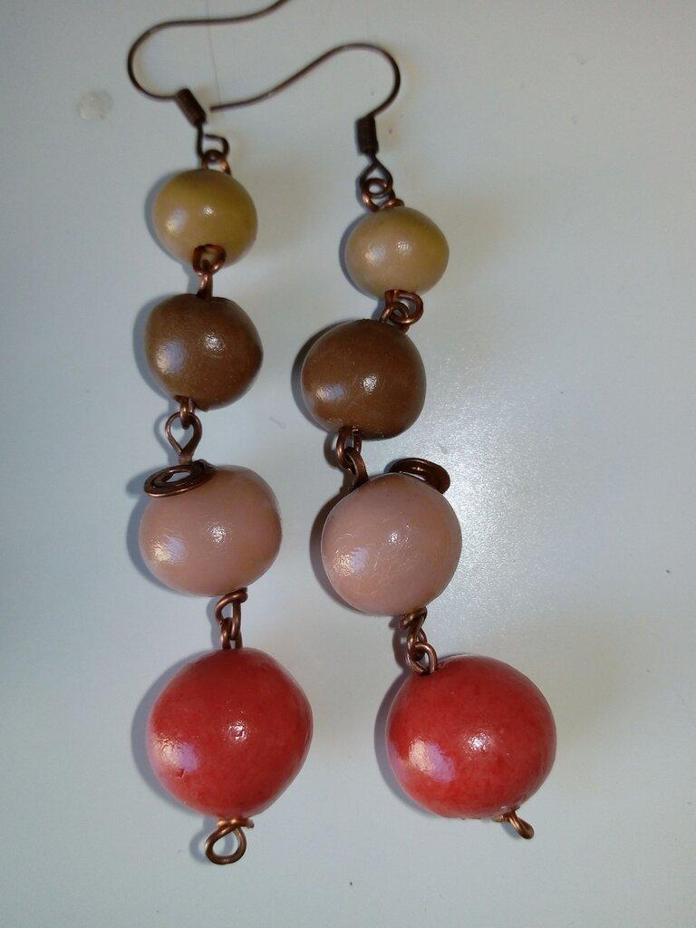 Braccialetto perle pasta di mais