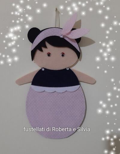 fustellato bambola da appendere