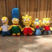 I Simpson Amigurumi