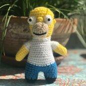 Homer Simpson Amigurumi