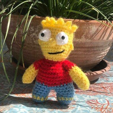Bart Simpson Amigurumi