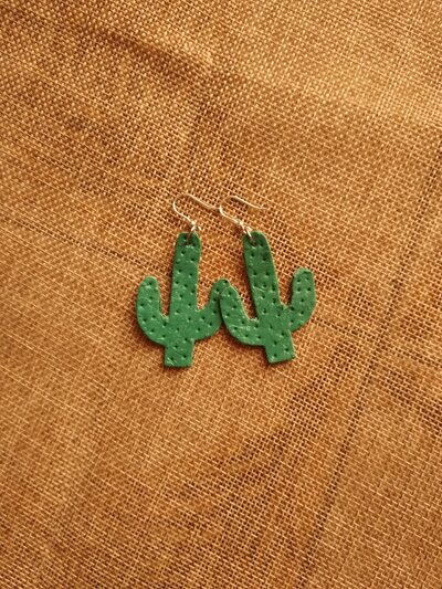 Orecchini cactus 🌵