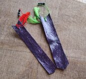 Segnalibro colorato viola o giallo🔖