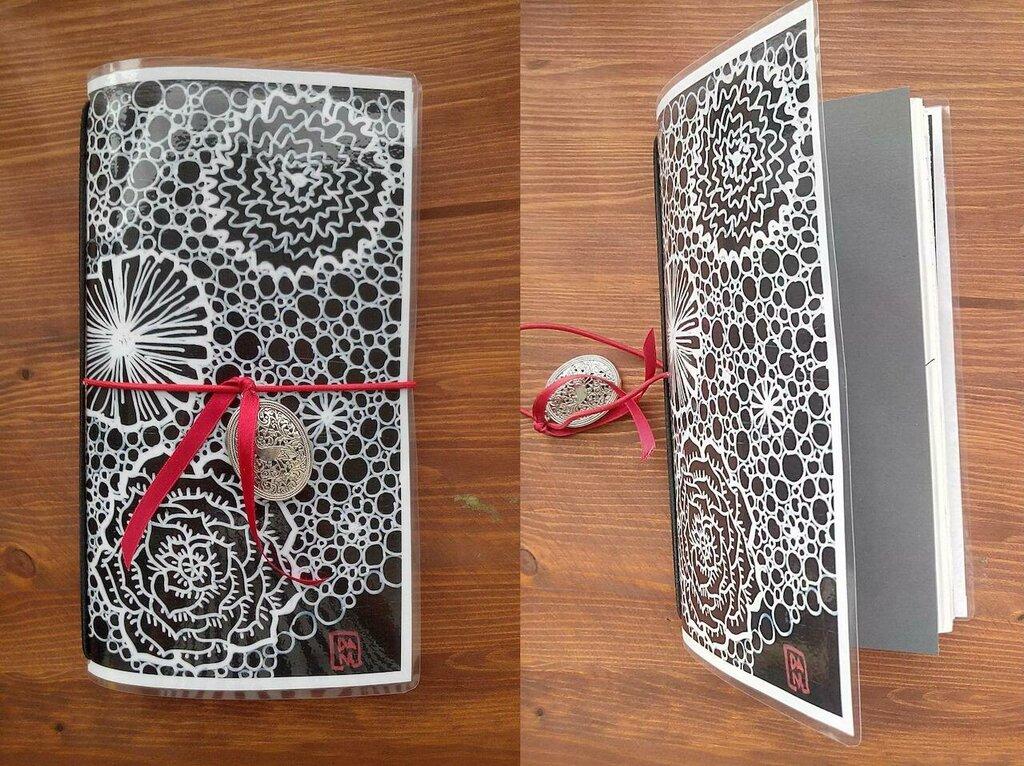 Diario, Album, Midori, Taccuino da viaggio, Junk Journal,Travel book,