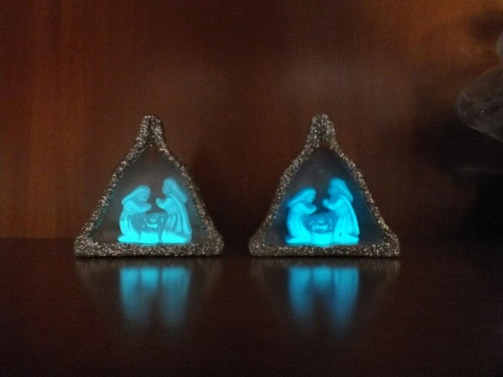 pezzi unici in ceramica refrattaria o in argilla modellati a mano e firmati .Statue per presepi