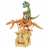 Briantasaurus - Puzzle 3D Colorato