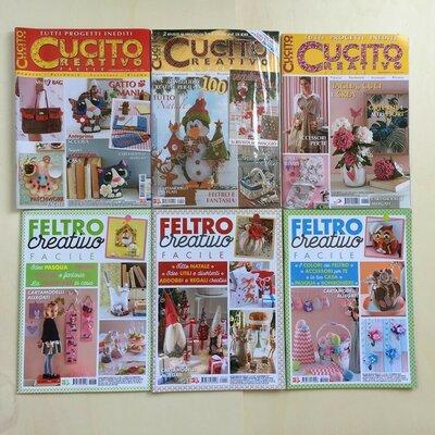 GRUPPO D - RIVISTE CUCITO E FELTRO