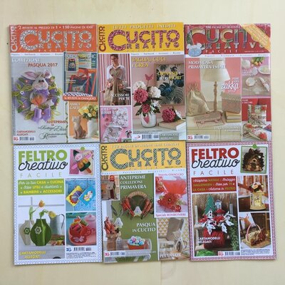 GRUPPO F - RIVISTE CUCITO E FELTRO