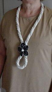 collana maxi con cialde