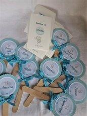 Segnagusto confettata personalizzato per qualsiasi evento