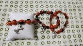 Bracciale con perle semi HUAYRURO amuleto portafortuna