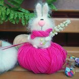 Bambola  Amigurumi Conigliettо a maglia
