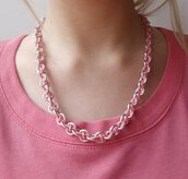 Collana Emotion - Rosa