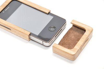 iPhone 4G wooden case