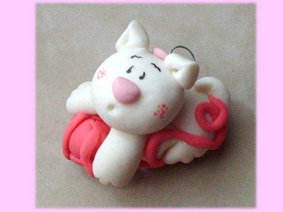 Magnete gattina- bomboniera nascita battesimo