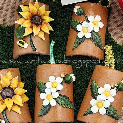 Tegole fiori