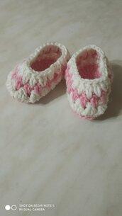 Scarpine babbucce neonato