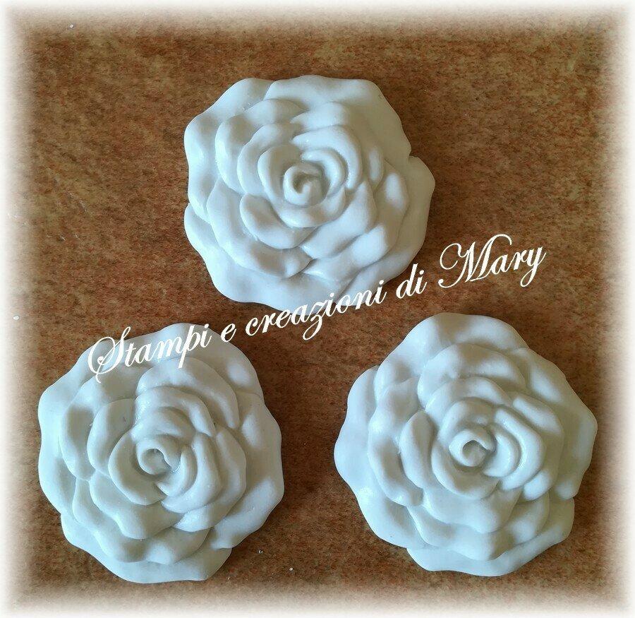Multi stampo 3 rose in silicone