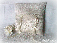 Cuscino portafedi - Ring bearer pillow