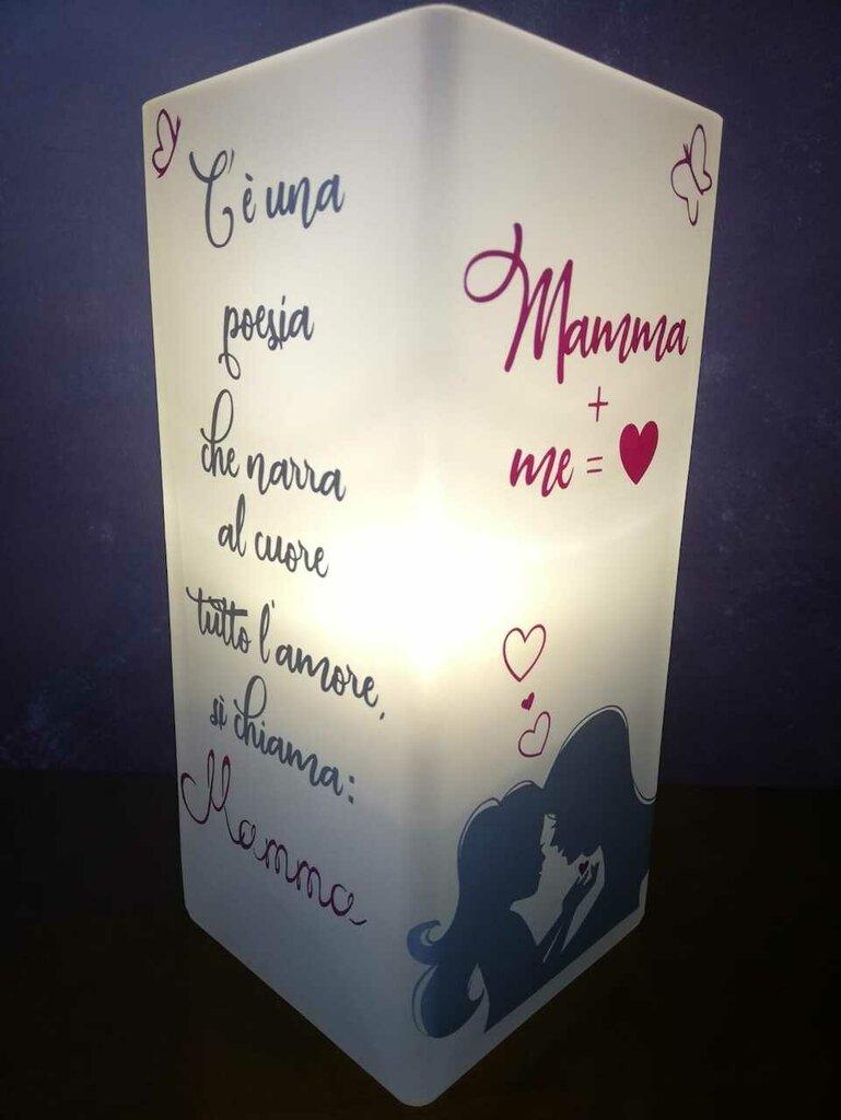 Lampada decorativa personalizzata