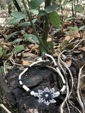 Collana unica in perle