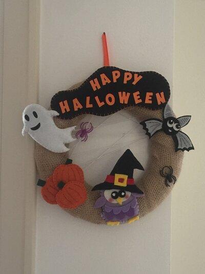 Ghirlanda fuoriporta halloween