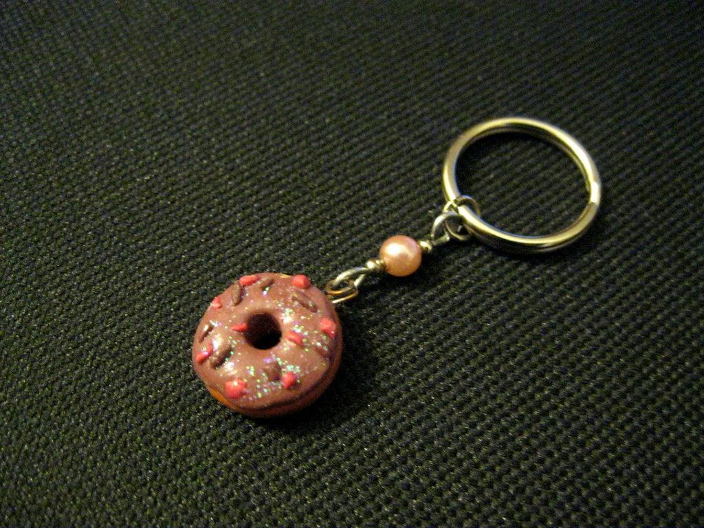 Portachiave doughnut