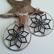 Orecchini Ethel realizzati in tessitura peyote