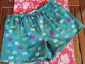 Pigiama shorts cotone