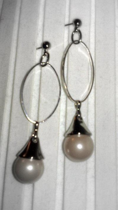 Orecchini Perle Handmade