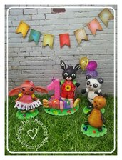 Cake Topper Bing e i suoi Amici