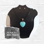 """Collana con Pietra Naturale """"Blue Pine"""""""