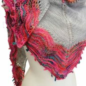 Scialle in lana seta