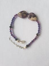 Bracciale Purple Amethyst