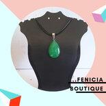 """Collana con Pietra """"Malay Jade"""""""