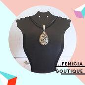 """Collana con Pietra """"Speckle Stone"""""""