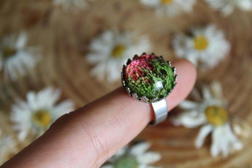 anello prato di tulipani