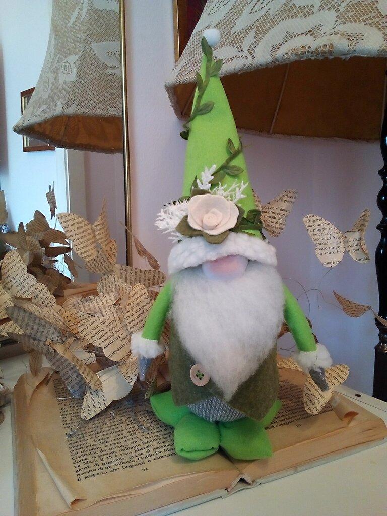 GNOMO cappello verde chiaro