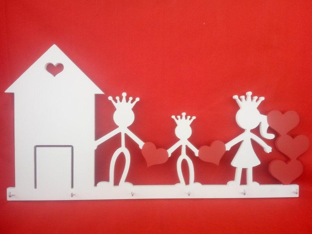 Appendichiave da muro famiglia