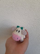 Vitellino all'uncinetto amigurumi