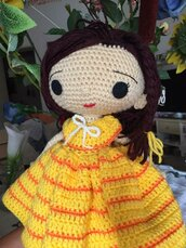 bambola ad uncinetto Emma