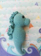 Cavalluccio marino amigurumi