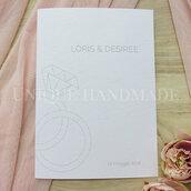 Libretto Matrimonio elegante